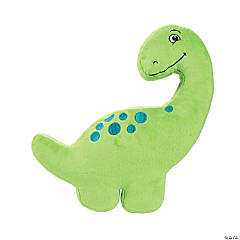 That's How We Rawr Snugglesaurus Green Plush Dinosaur - Long Neck
