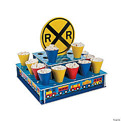 Train Treat Stand with Cones