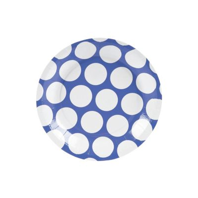 quickview · image of Large Purple Polka Dot Paper Dessert Plates with sku13680362  sc 1 st  Oriental Trading & Large Polka Dot Paper Dessert Plates