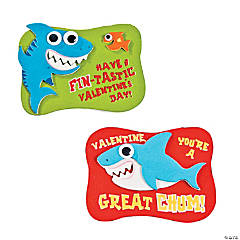 Valentine Shark Magnet Craft Kit