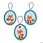 Valentine Fox Ornament Craft Kit