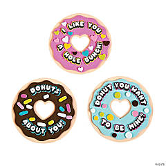 Valentine Donut Magnet Craft Kit