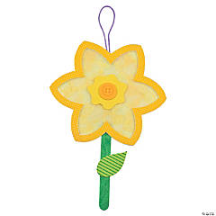 Tissue Paper Daffodil Craft Kit