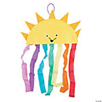 Paper Plate Sun & Rainbow Craft Kit