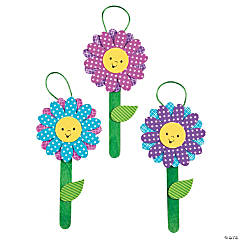 Stacked Flower Ornament Craft Kit
