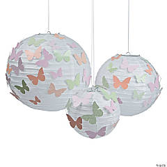 Spring Butterfly Paper Lanterns