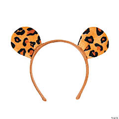 Cheetah Ears Headbands