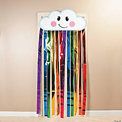 Rainbow Cloud Door Curtain