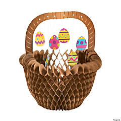 Easter Egg Basket Centerpiece