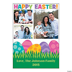 Easter Multi-Image Upload Photo Card