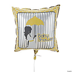 Mod Baby Shower Mylar Balloon