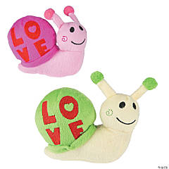 Plush Valentine Love Snails
