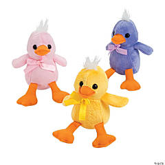 Plush Pastel Ducklings