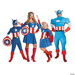 Captain America Group Costumes