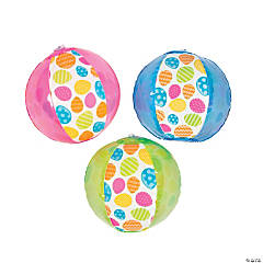 Inflatable Easter Pattern Mini Beach Balls