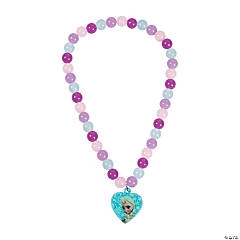 Disney Frozen Beaded Necklace with Charm