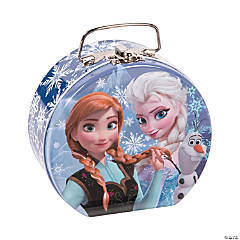 Disney Frozen Tin Box with Handle