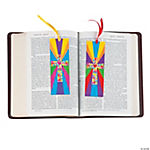 Colorful Cross Mosaic Bookmarks
