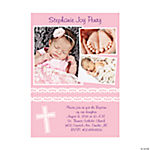 Multi Image Custom Photo Cross Invitations