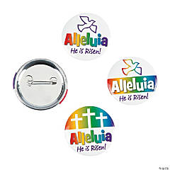 Alleluia Buttons