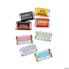 Personalized Hershey's Spring Mini Candy Bars with Wrappers