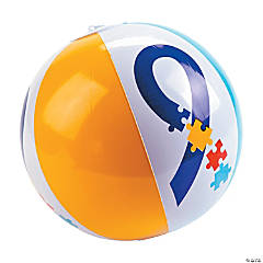 Inflatable Autism Awareness Beach Balls