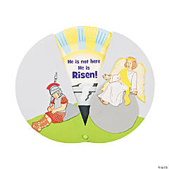 Paper Plate Empty Tomb Reveal Craft Kit