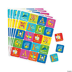 Dr. Seuss™ ABC Theme Stickers