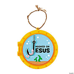 Hooked on Jesus Ornament Craft Kit