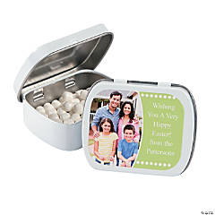 Easter Custom Photo Mint Tins