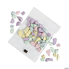 Pastel Chocolate Rock Candy Fun Packs