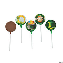 St. Patrick's Day Chocolate Suckers