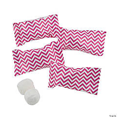 Hot Pink Chevron Buttermints