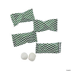 Green Chevron Buttermints