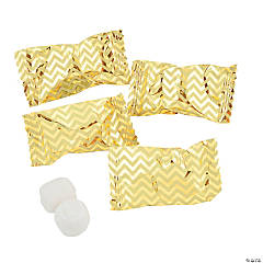 Gold Chevron Buttermints