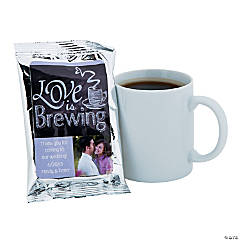 Custom Photo Coffee Packs - Wedding