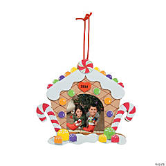 2014/2015 Gingerbread House Picture Frame Craft Kits for Groups