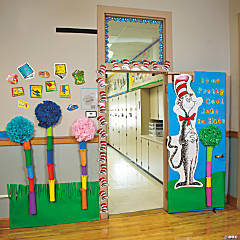 Dr. Seuss™ Door Decoration Idea