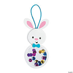 Acetate Easter Bunny Ornament Craft Kit
