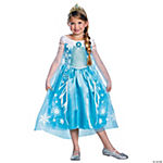Disney's Frozen Deluxe Elsa Costume for Girls - Medium