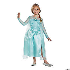 Frozen Elsa the Snow Queen Costume for Girls - Medium