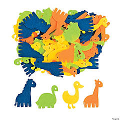 Zoo Animal Shape Assortment