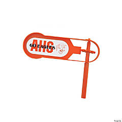 Giant Orange Team Spirit Custom Photo Noisemakers