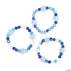 Snowflake Stacking Bracelets Project Idea