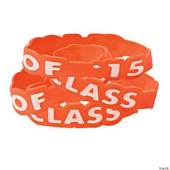 Class of 2015 Orange Bracelets