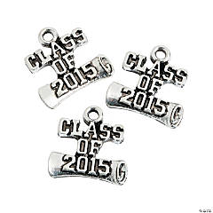 Class of 2015 Graduation Charms