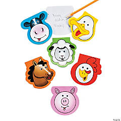 Farm Wiggle Eye Notepads