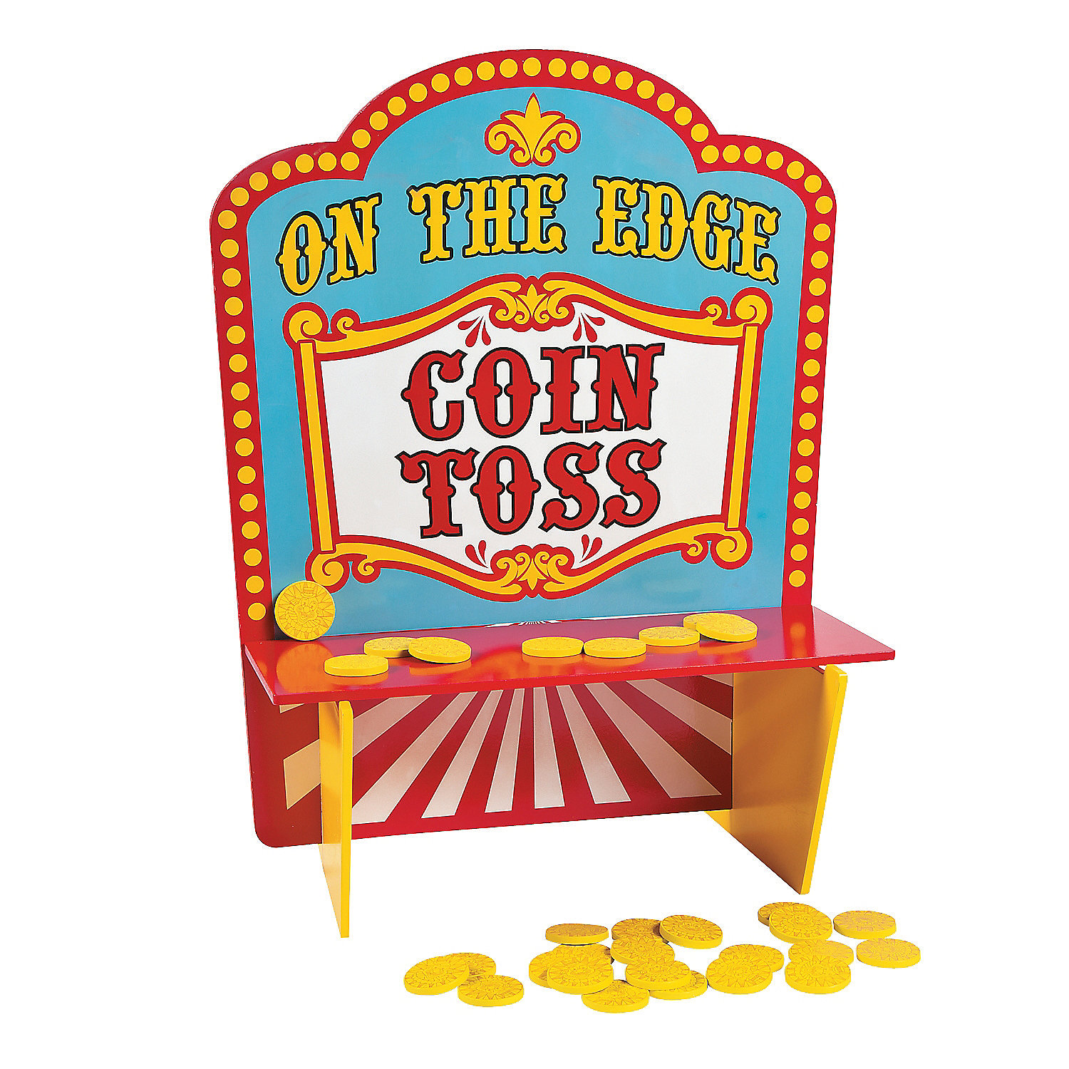 On The Edge Carnival Coin Toss Game Games Games