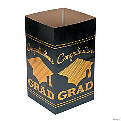Graduation Disposable Trash Can