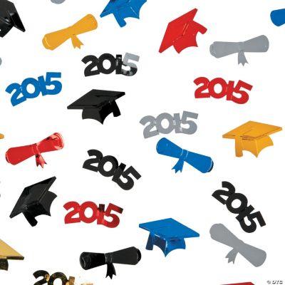 2015 Graduation Confetti
